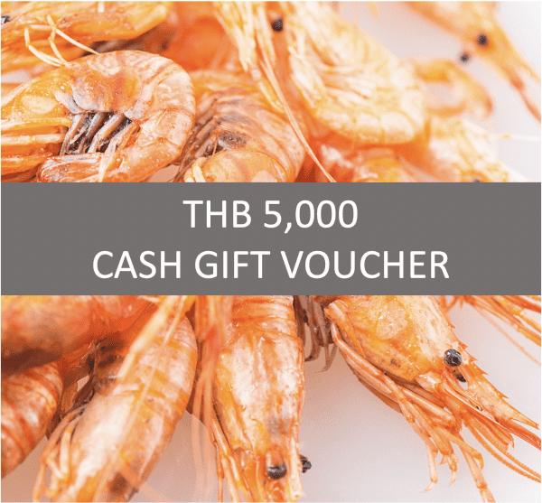 Square Restaurant 5000 Cash Voucher
